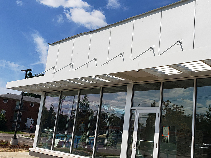 Architectural Metal Canopies Awning Partners